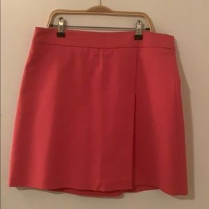 Zara Hot pink above the knee skirt